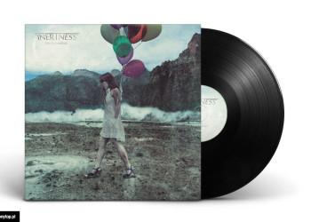 projekt okładki płyty LP winylowej zespołu INERTNESS - SERENITY IN SOLITUDE